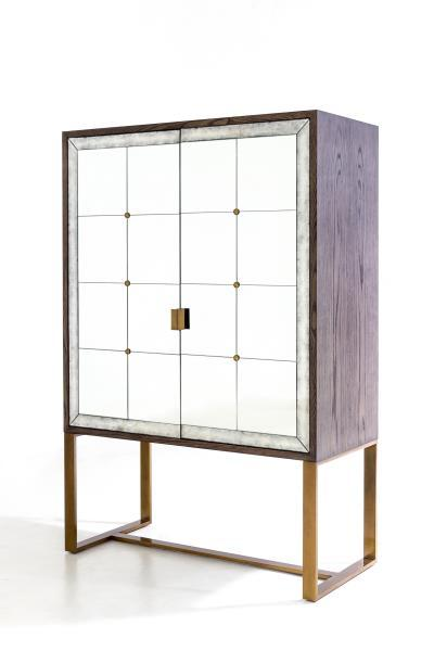 Exhibitor Mr Brown London's Lombardi Midsize Cabinet