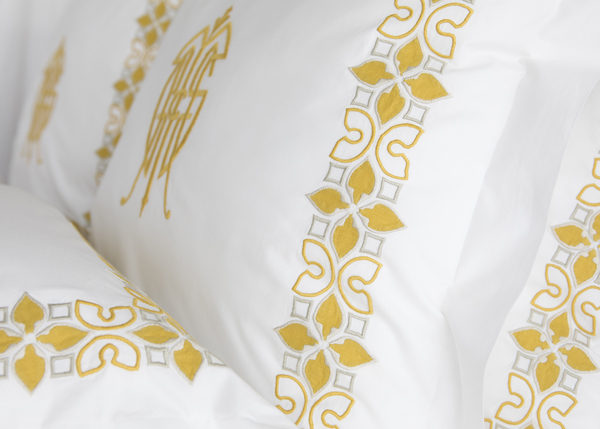 Suzanne Tucker Home and Julia B. release lux bedding line