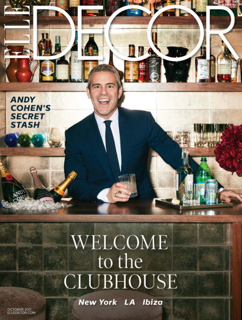 Andy Cohen, Elle Decor