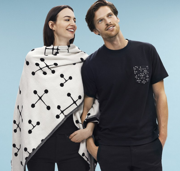 Eames-inspired Uniqlo tees