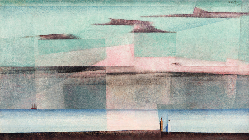 "Yonel Feininger's ""Pink Cloud II,"" at Shepherd W&K Galleries"