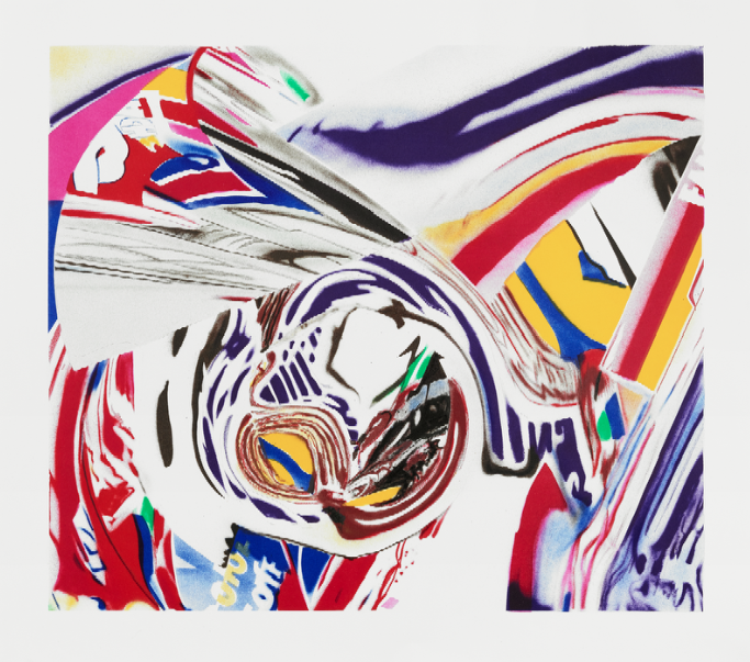"James Rosenquist's ""After Berlin V,"" 1999"