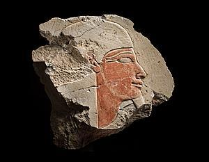 Ariadne Galleries' Relief Fragment Depicting A Nile God