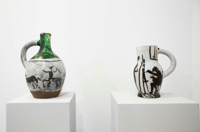 Hand-painted ceramics by Picasso