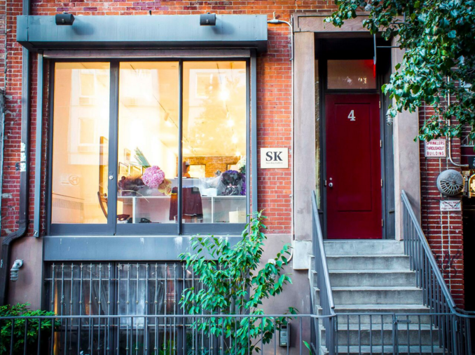 Kay's new gallery is located in downtown Manhattan