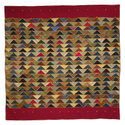 Tennessee Flying Geese quilt; courtesy Sara Kay Gallery