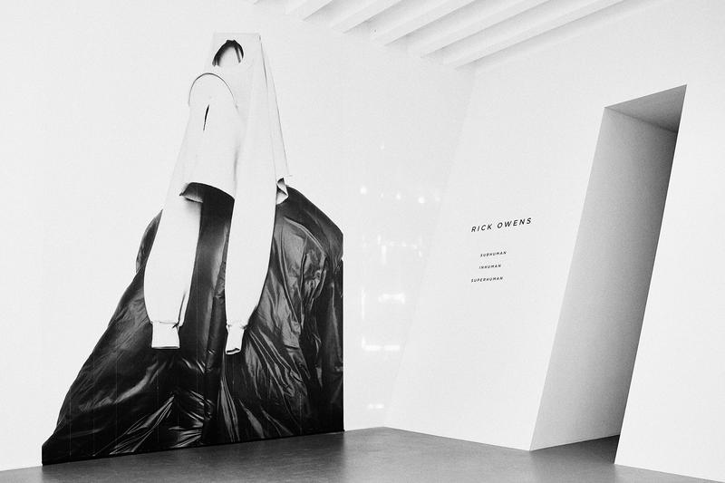 The Rick Owens retrospective opens today.