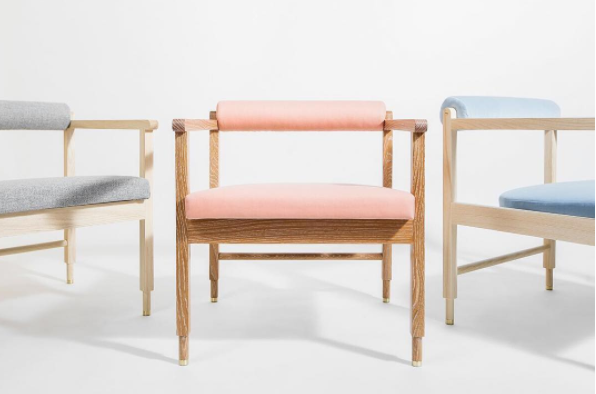 VOLK for In The Pursuit, Brooklyn based hand-crafted modern furniture
