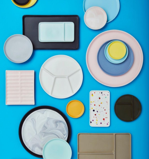Felt + Fat ceramics; courtesy of In The Pursuit