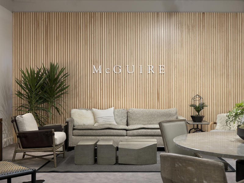 McGuire Chicago showroom