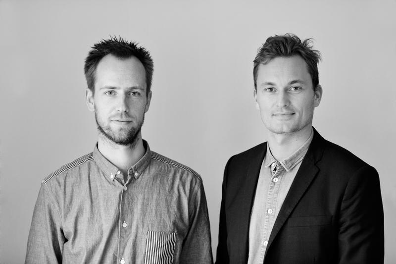 Peter Bonnén (left) and Kristian Byrge, founders of Muuto; courtesy Frame