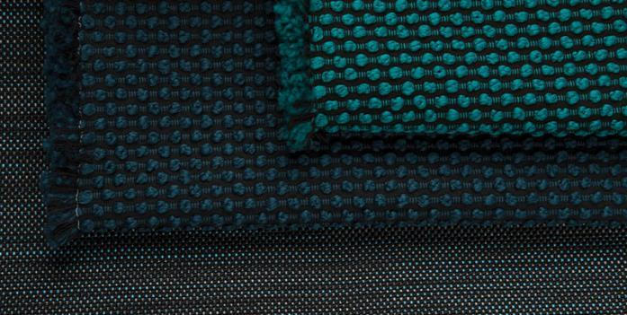 """Suzanne Tick ofLuum Textilesearned the distinction for her """"Focus In"""" collection; courtesy LuumTextiles"""