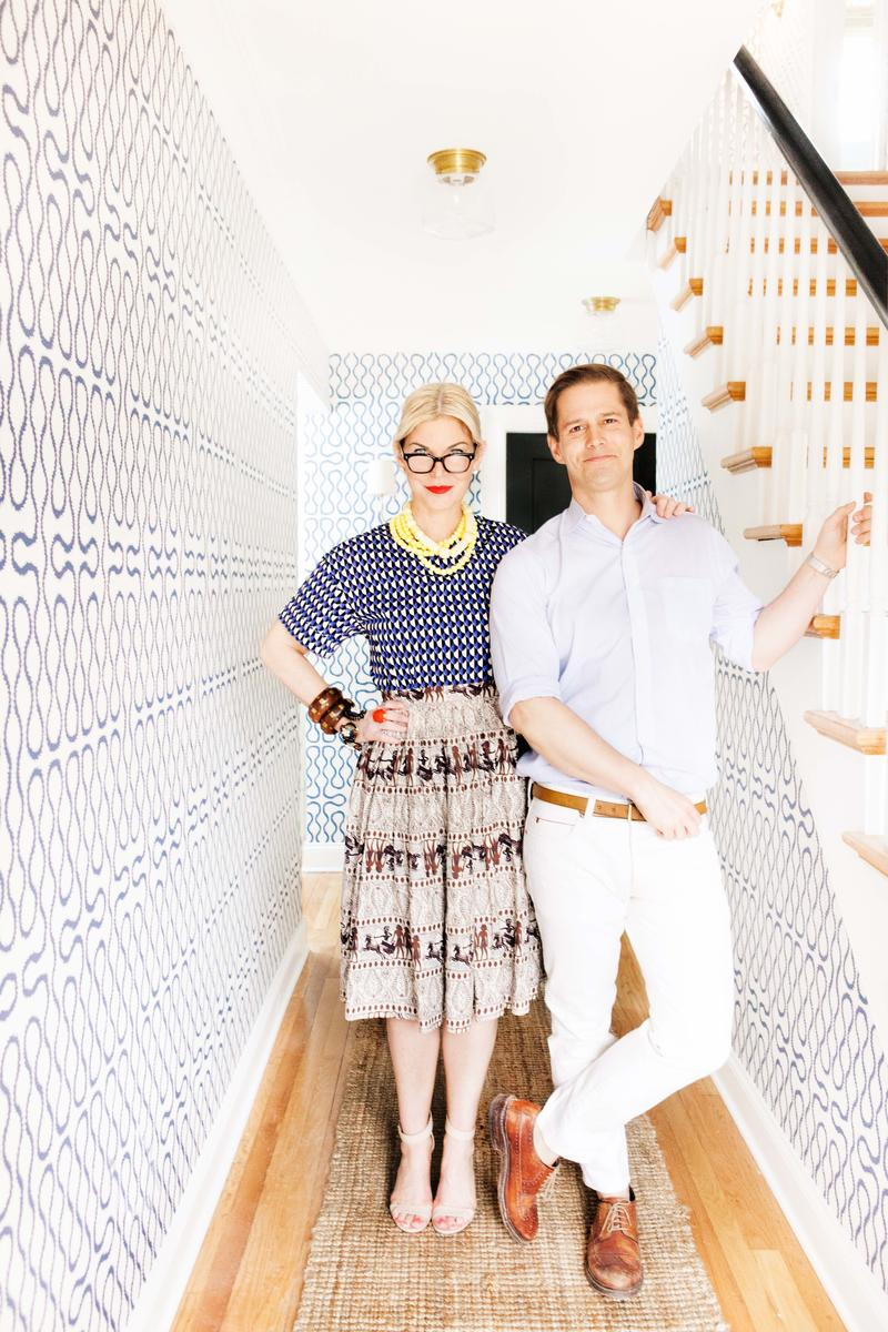 How one husband-and-wife team made the move from retail to interiors