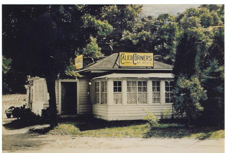 The first Calico store (then named Calico Corners) in upstate New York; courtesy Calico