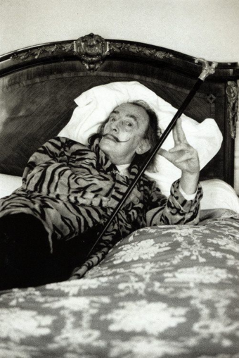 Salvador Dali, by Helmut Newton