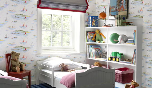 Katie Lydon's children's room for The Mine