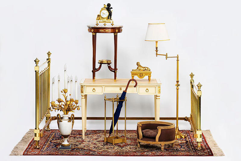 Objects from the sale; courtesy Quentin Bertoux for Artcurial.