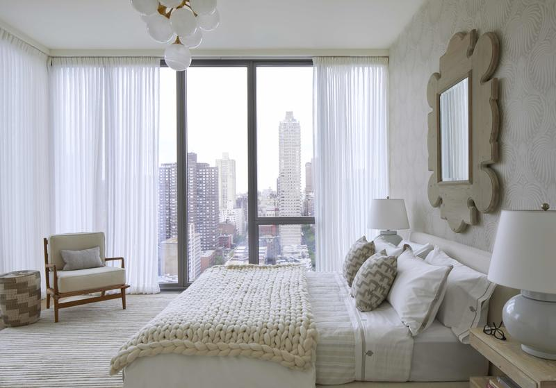 Katrina Hernandez and Joshua Greene of Hernandez Greene teamed up with Domino on two model units in Citizen360, an Upper East Side condo, last year