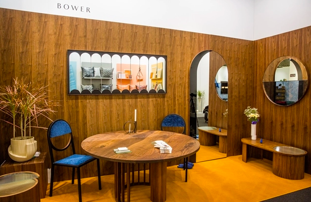 Bower's 2017 MADE booth; courtesy AD Design Show