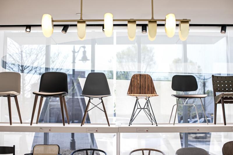 Design Within Reach's Atlanta showroom; courtesy DWR