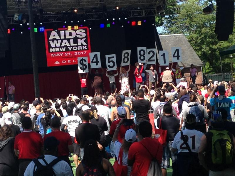 A glimpse of last year's AIDS Walk