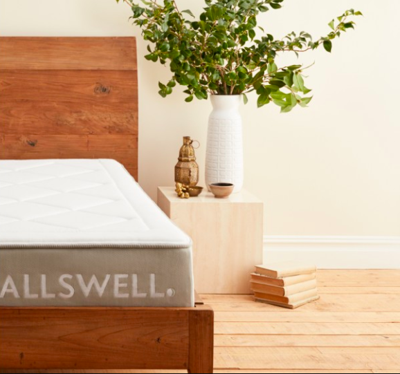 Walmart's new Allswell brand is sold exclusively on allswellhome.com; courtesy Allswellhome