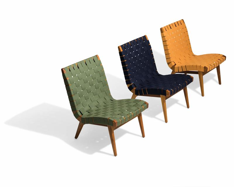The newly launched Jens Risom Outdoor Collection for Knoll; courtesy Knoll Inc.