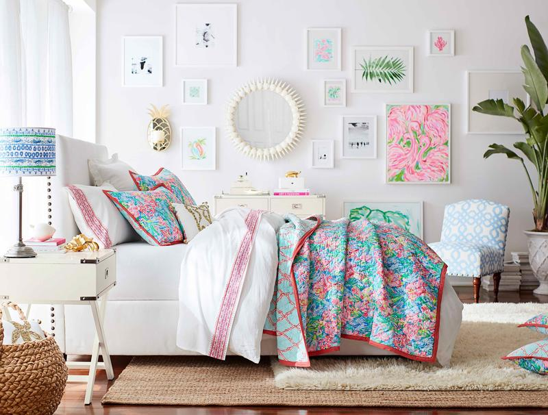 Lilly Pulitzer brings preppy to Pottery Barn