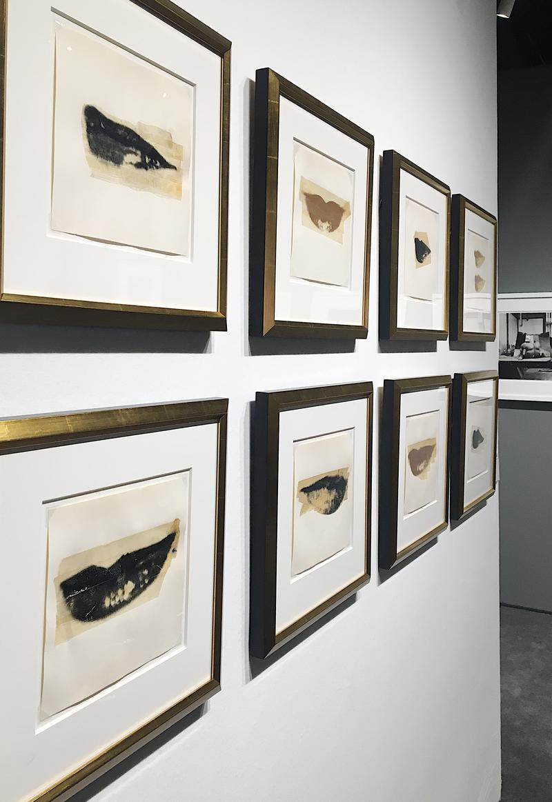 "Katharine Earnhardt's photo of Andy Warhol's ""Lips,"" taken at Danziger Gallery"