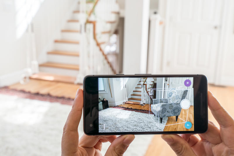 Wayfair's visualization tool is now available on Android devices.