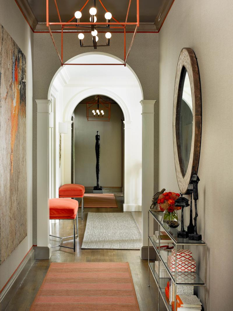 Melanie Millner's2012 Atlanta Symphony Orchestra Showhouse space; photo by Emily Followill