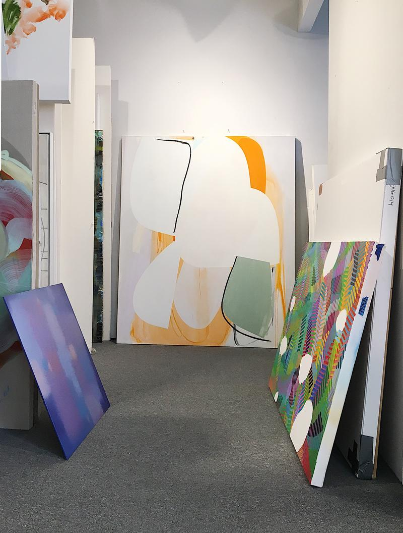 Enlisting the experts: gallerists, artists and installers