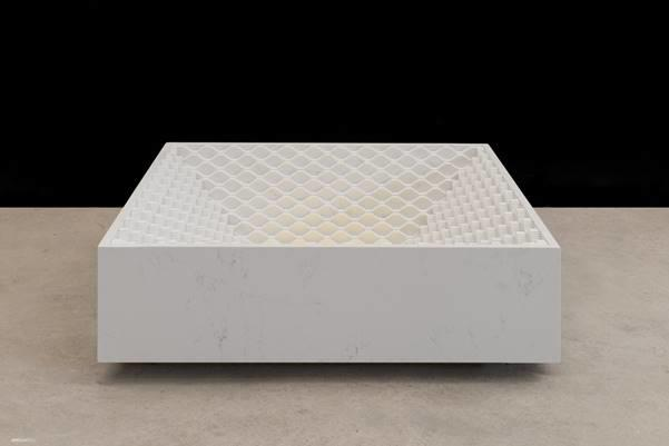 The Stepwell Table by COMPAC and Coffey Architects for Wallpaper* Handmade