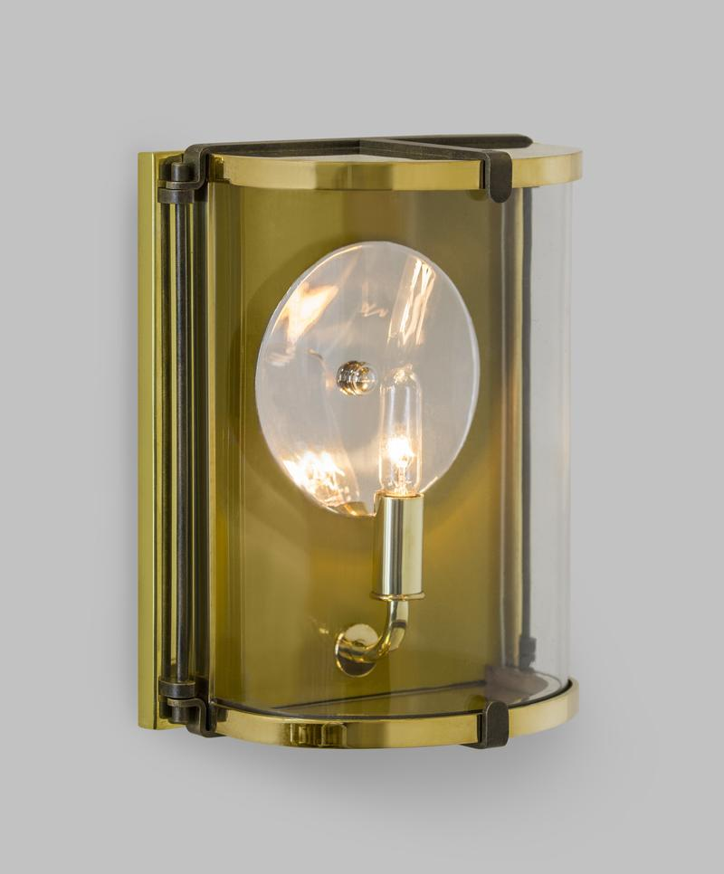 New exterior sconce, Peel, from The Urban Electric Co.'s latest collection launching now.; courtesy of The Urban Electric Co.