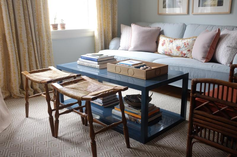 Orchard Coffee Table in blue; courtesy Ziggy