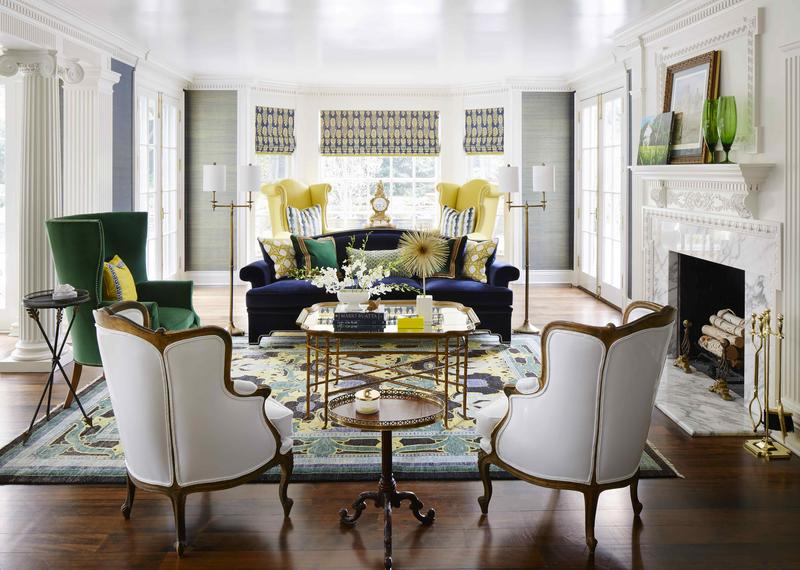 Room by designer Corey Damen Jenkins, who will appear at next week's Texas Design Week; courtesy