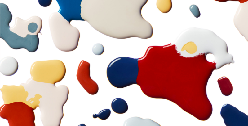 One Kings Lane has launched a 32-hue paint collection; courtesy OKL