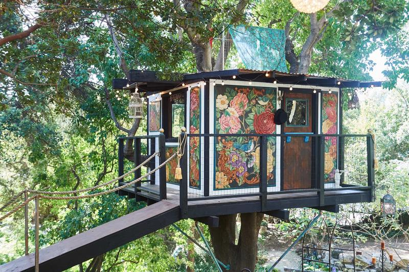 Treehouse by TK at the 2018 Pasadena Showcase House for the Arts; photo by Peter Christiansen Valli