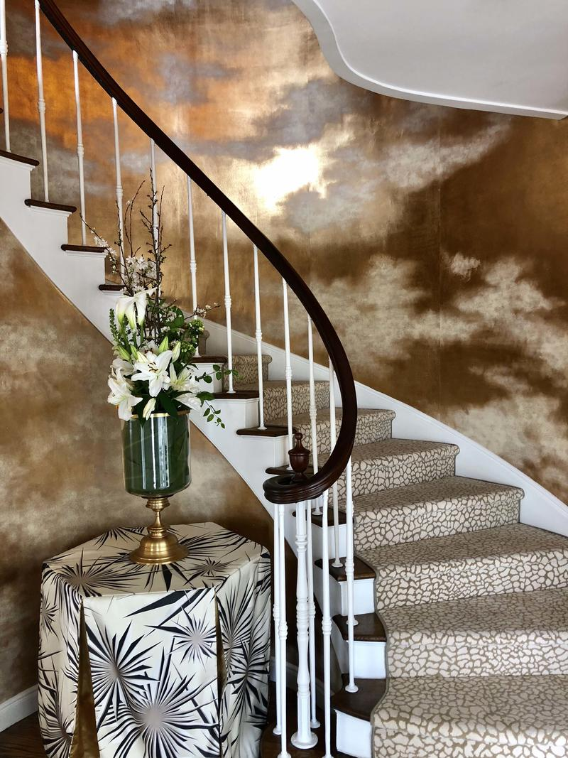 Grand entry by Molie Malone at the San Francisco Decorator Showcase