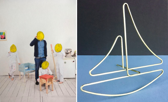 Images, left to right: Before & Be After: Growing Up Design with Lucas Maassen & Sons; Play in Motion with Rodger Stevens. Courtesy of kinder MODERN.