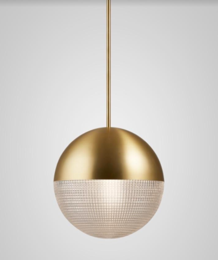 Lens Flair in Brushed Brass; courtesy Lee Broom