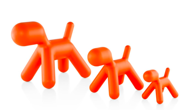Magis Puppy in Orange, Designed by Eero Aarnio for Magis, Photo courtesy of Herman Miller and Design Pavilion.
