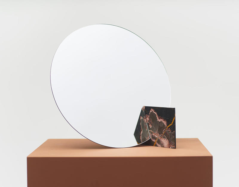 Autem Mirror by Bellamoli Studio for Sight Unseen's OFFSITE fair; courtesy Sight Unseen