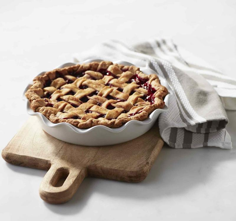 Ruffle Pie Dish; courtesy Boon Supply Co.