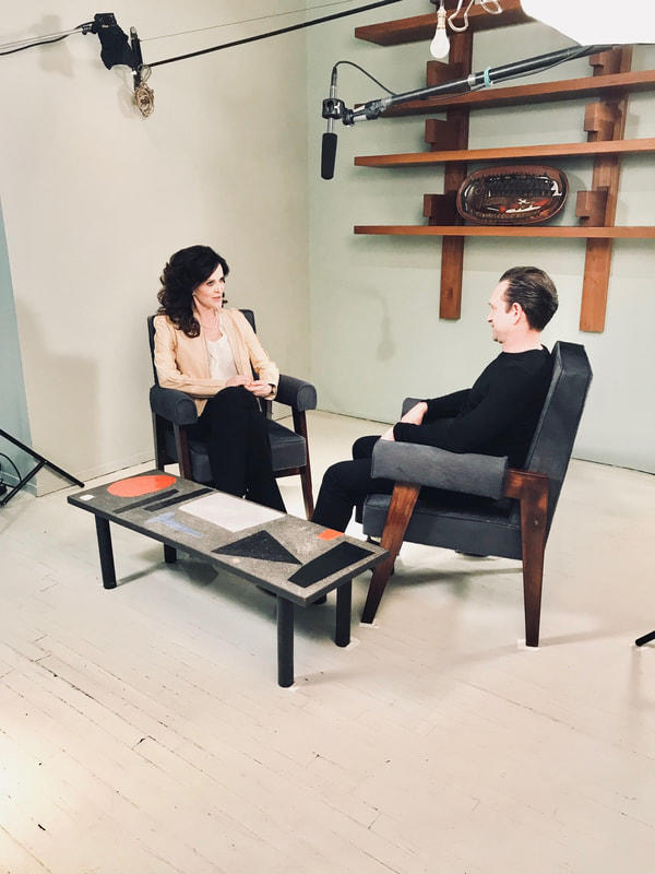 Daniella Ohad in conversation with Evan Snyderman, co-founder of R & Company about celebrating 20th anniversary in a new temple of design.