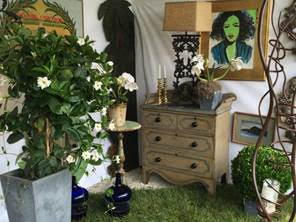 Booths at the East Hampton Antiques Show at the Mulford Farm, East Hampton
