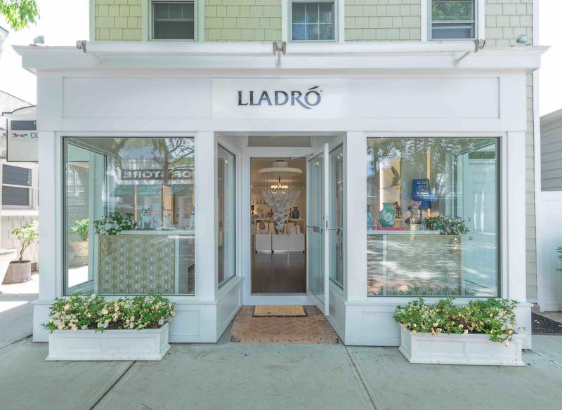 Lladro's pop-up opened in early June and runs through September; courtesy TK