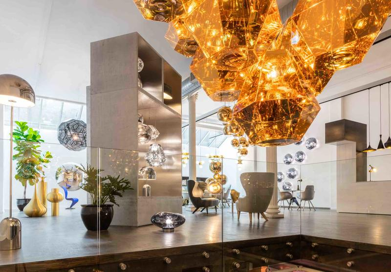 Tom Dixon's new New York City showroom.