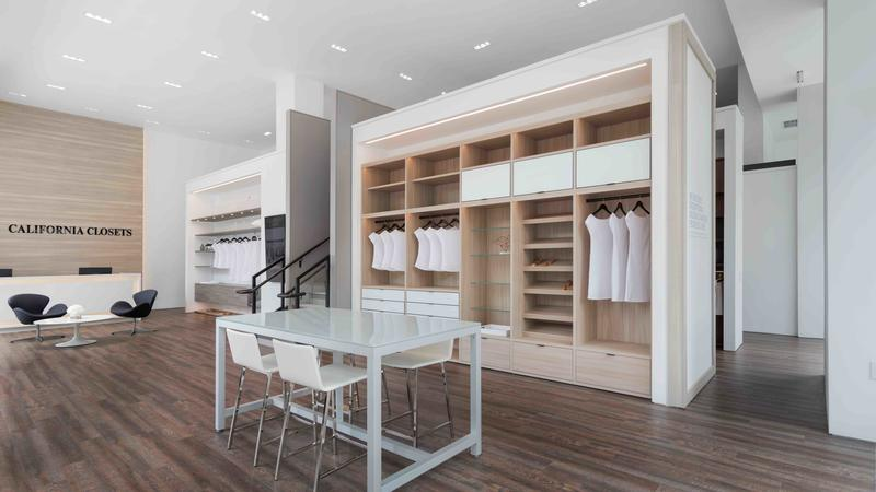 California Closets' new NYC showroom; courtesy Stefan Radtke