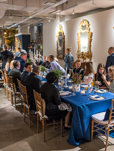 Sotheby's private dinner